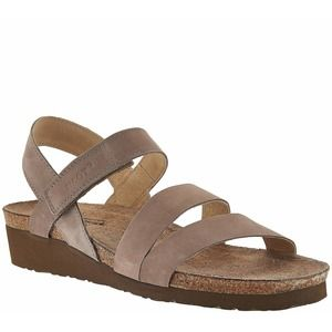 New Naot Kayla Cross-strap Sandals Low Wedge
